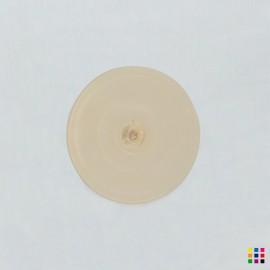 J Roundel 101 pale amber 8cm