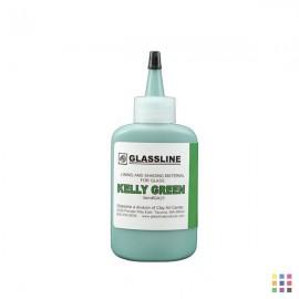 GA23 Kelly green Glassline...