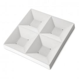 Sushi four squares mould 9x9cm