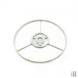 Tin-plated ring 14cm