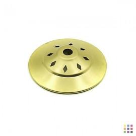 Openwork round cap 7.7cm