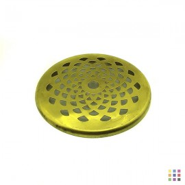 Perforated round cap 10.3cm