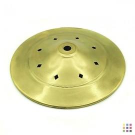 Openwork round cap 15cm