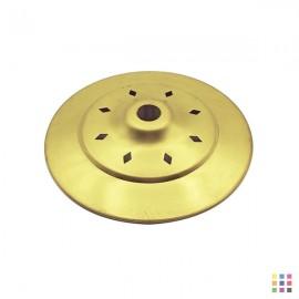 Openwork round cap 10cm