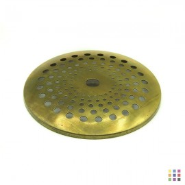 Perforated round cap 11.5cm