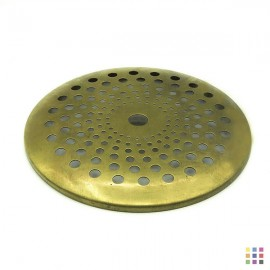 Perforated round cap 12.7cm