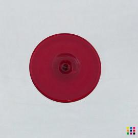 J Roundel 608 dark red 8cm