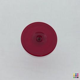 J Roundel 608 dark red 6cm