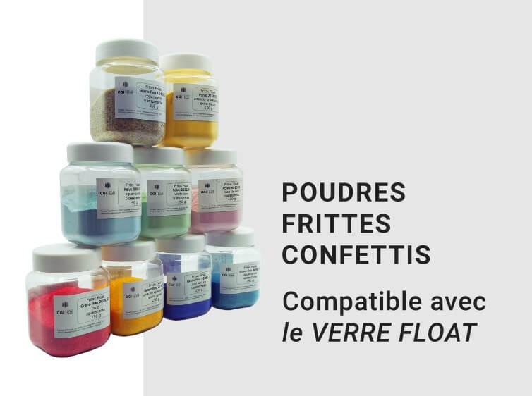 Poudres - Frittes - Confettis
