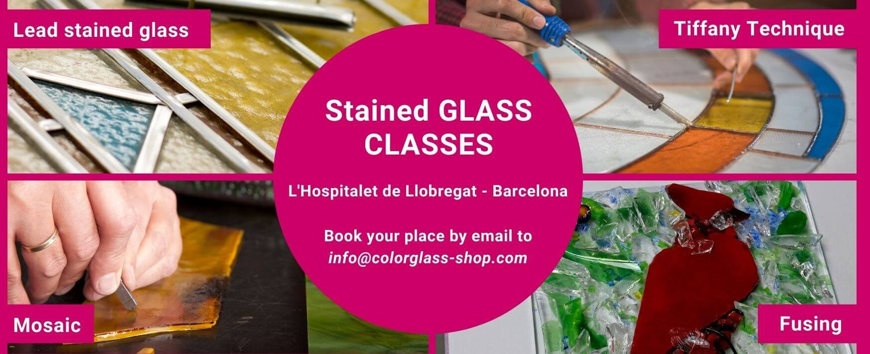 Stained Glass Classes Barcelona